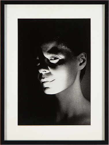 Eva klasson, photograph signed and dated 2009 on verso.
