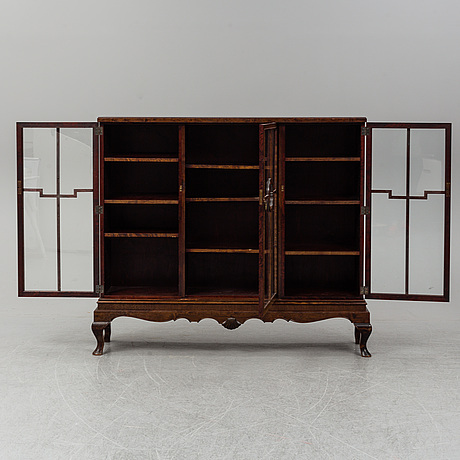 A 1920's/30's vitrine cabinet.
