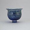 GÖran wÄrff, a glass bowl, unik, kosta, signed.