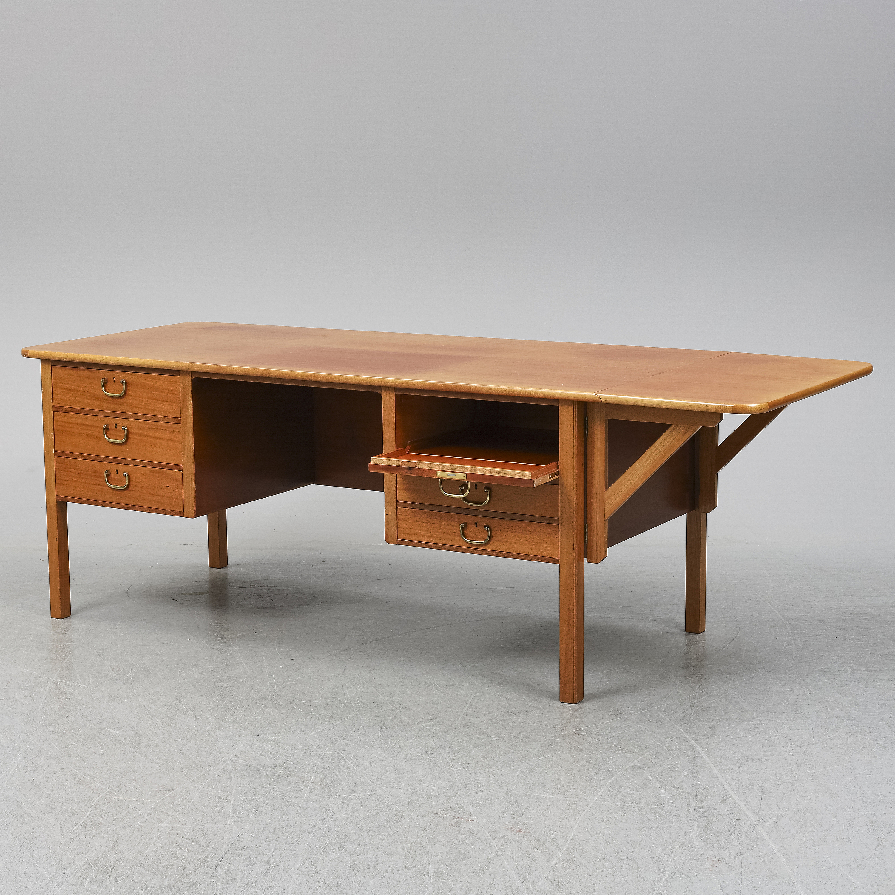 A Second Half Of The 20th Century Mahogany Writing Desk By Josef Frank For Firma Svenskt Tenn Bukowskis