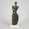 Stan wys, skulptur, brons, iii/iv, daterad 1999, ap.