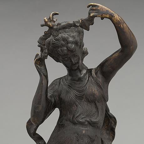 Ernest rancoulet, after, sculpture, bronze, signed.