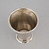 A finnish silver beaker, mark of daniel hall, turku 1745.