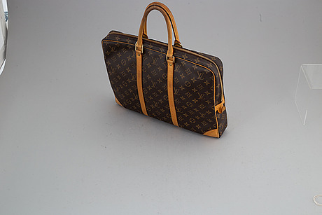 "Louis vuitton, dokumentväska/laptop-väska ""porte documents voyage""."