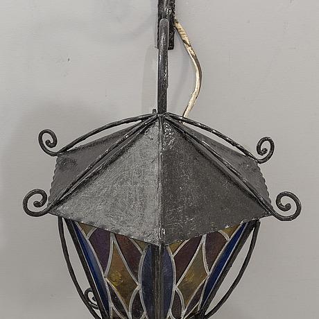 Utomhusbelysning / vÄgglampa, 1900-tal.