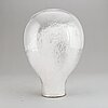 Eva englund, a glass sculpture, signed and dated 1973.