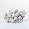 Hans hedberg, skulptur, druvklase, biot, frankrike.