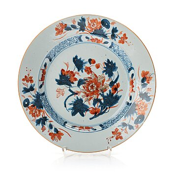 705. A set of 11 imari dinner plates, Qing dynasty, Qianlong (1736-95).