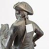 Skulptur, samtida, kopia efter johann gottfried schadow.