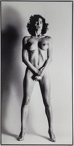 Helmut newton (after), poster.