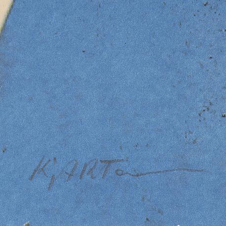 Kjartan slettemark, lithograph in colours, signed 115/250.