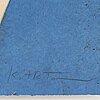 Kjartan slettemark, lithograph in colours, signed 111/250.