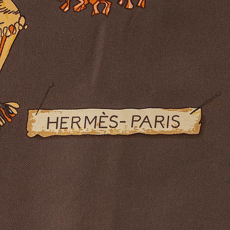 HermÈs, a 'passementerie' silk scarf.