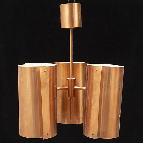 Hans-agne jakobsson, a copper ceiling light.