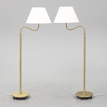 JOSEF FRANK, a pair of 2569 floor light, Firma Svenskt Tenn.