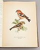 A set of three books about swedish birds by von wright. 1927.