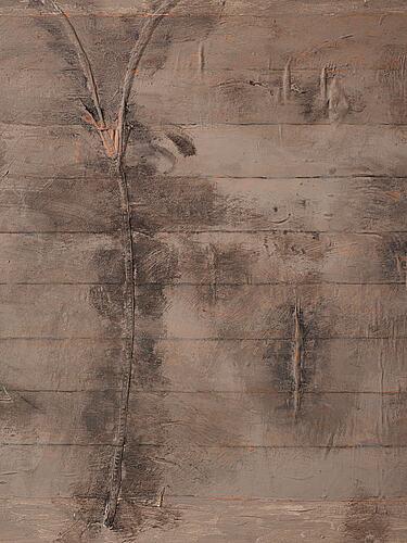 Jan hÅfstrÖm, olja på pannå, signerad och daterad 1978.