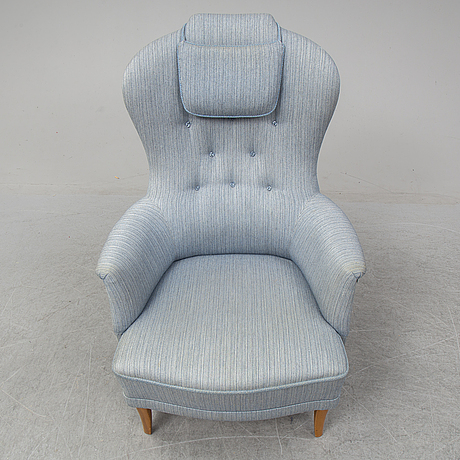 A second half of the 20th century armchair by carl malmsten.