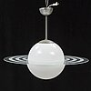 A mid 20th century ceiling lamp.