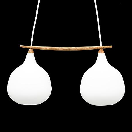 Uno & Östen kristiansson, a luxus ceiling light from vittsjö, 1950's/60's.