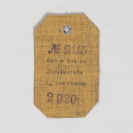 Laila karttunen, hÅrgarnsmatta, aaltonens mattväveri, kiikka, finland 1930-tal. ca 363x250 cm.