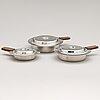 "Bertel gardberg, three serving dishes, ""canton"", hackman & co, sorsakoski, finland."