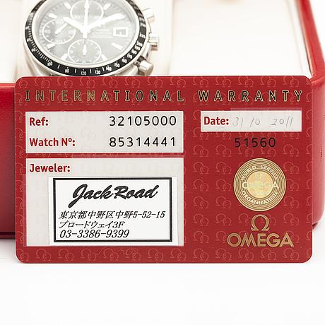 Omega, speedmaster, rannekello, 40 mm.