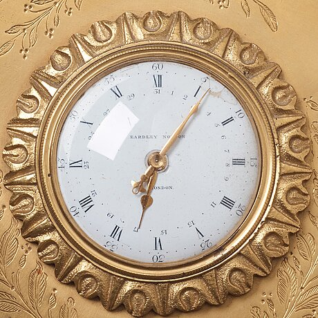 An eardley norton (london 1760-94) bronze wall clock.