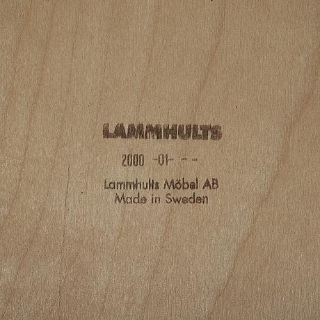 """BÖrge lindau & bo lindekrantz, fåtöljer, ett par, """"solo"""", lammhults, 2000."""