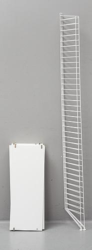 A 21st century 'string' book shelf by strinning.