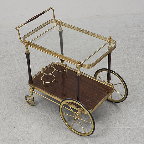 A second half of the 20th century tea trolley.