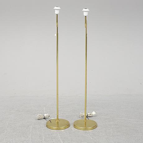 A pair of bergboms floor lights.