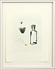 Lennart aschenbrenner, a lithograph in color, numbered 23/48 and signed,