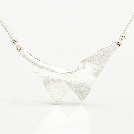 Lapponia, a sterling silver necklace, helsinki 2012.