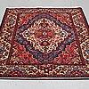 A carpet, hamadan 200 x 134 cm.