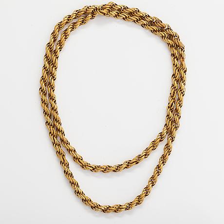 Halsband, 18k guld.