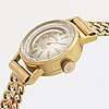 Ladies wristwatch, jacmire, 17 jewels incabloc, 18k gold, 15 mm, manual, total weight 20,2 g.