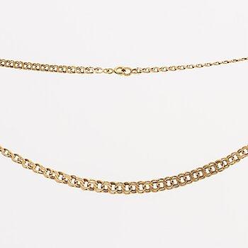 NECKLACE 18K gold, 13,5 g.