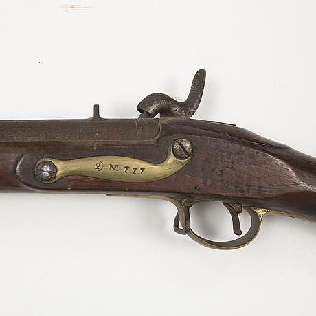 SlaglÅsgevÄr, svenskt-brittiskt, 1700-tal.