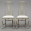 A set of 10 baroque-style chairs from around 1900.