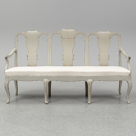 A rococo-style sofa from the late 1800's.