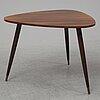 A bröderna miller teak coffee table, bankeryd, 1950's.