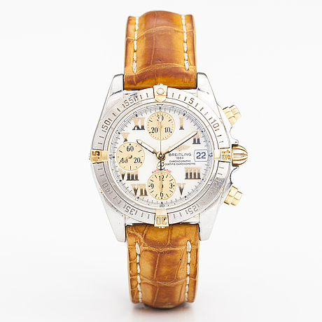 Breitling, cockpit, wristwatch, 39 mm.