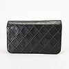 Chanel small single full flap bag.