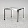 A chrome coffee table, 1970's/70's.
