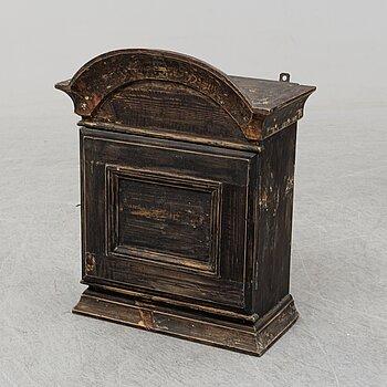 A circa 1900 small cabinet.