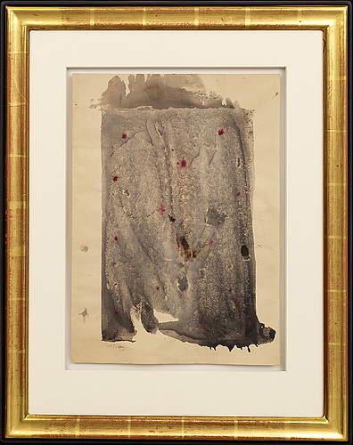Mark tobey, a signed water colour.