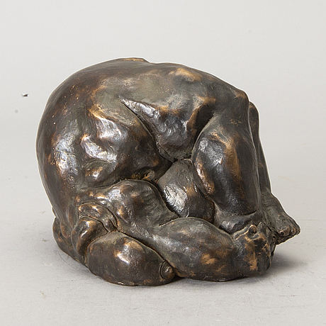 Rafael mayo, a signed bronze sculpture.