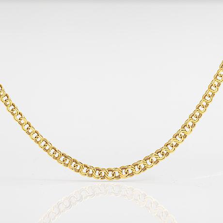 An 18k gold necklace. sweden.
