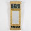 A circa 1800 late gustavian mirror.